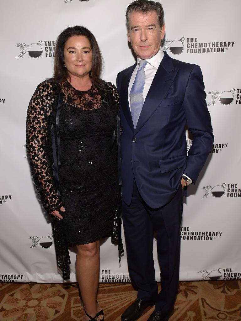 Pierce and Keely Shaye Brosnan (Photo by Ben Gabbe/Getty Images for Chemotherapy Foundation)
