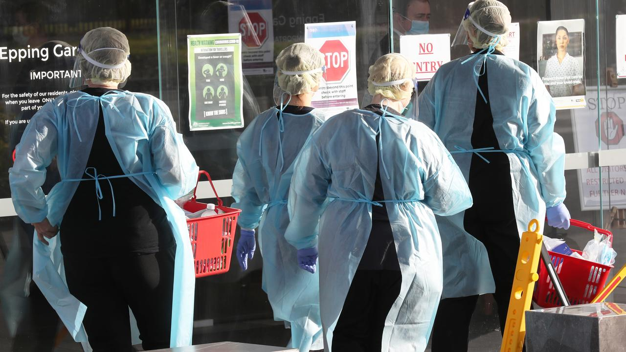 There was no plan for handling coronavirus in nursing homes, according to a scathing royal commission report after 641 people died in aged care facilities.