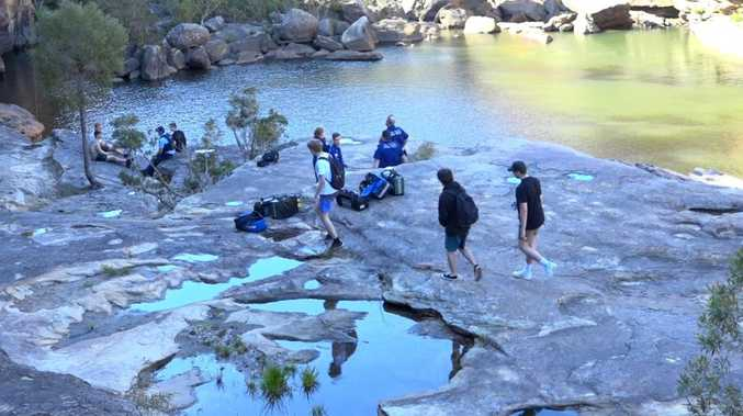 Body of missing teen found at swimming hole