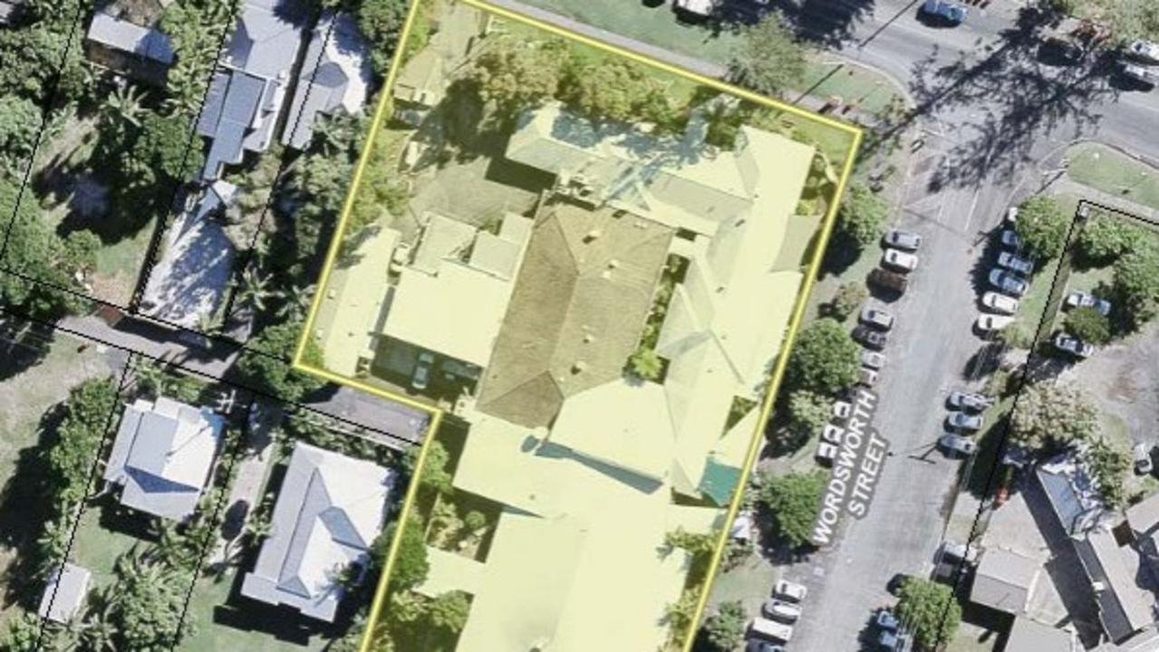 The old hospital site in Byron Bay.