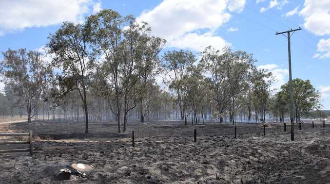 PHOTOS: 10 acres lost in Nanango roadside vegetation blaze