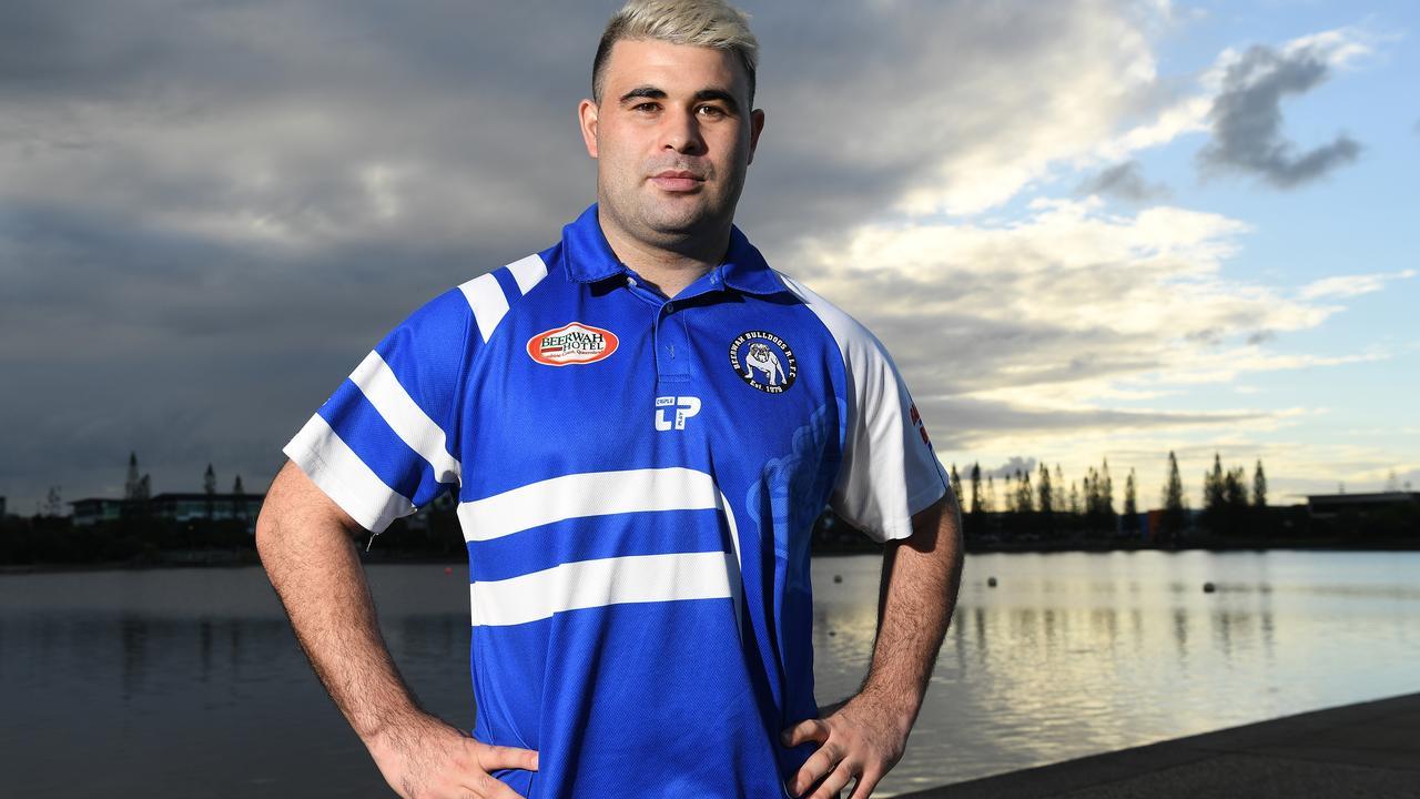 Beerwah Bulldogs coach Jordan Meads. Picture: Warren Lynam