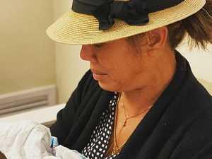Teigen's mum cradles late grandson Jack