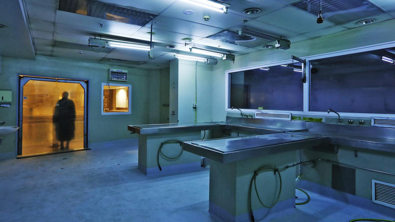 The now-empty Glebe morgue. Picture: Sam Ruttyn