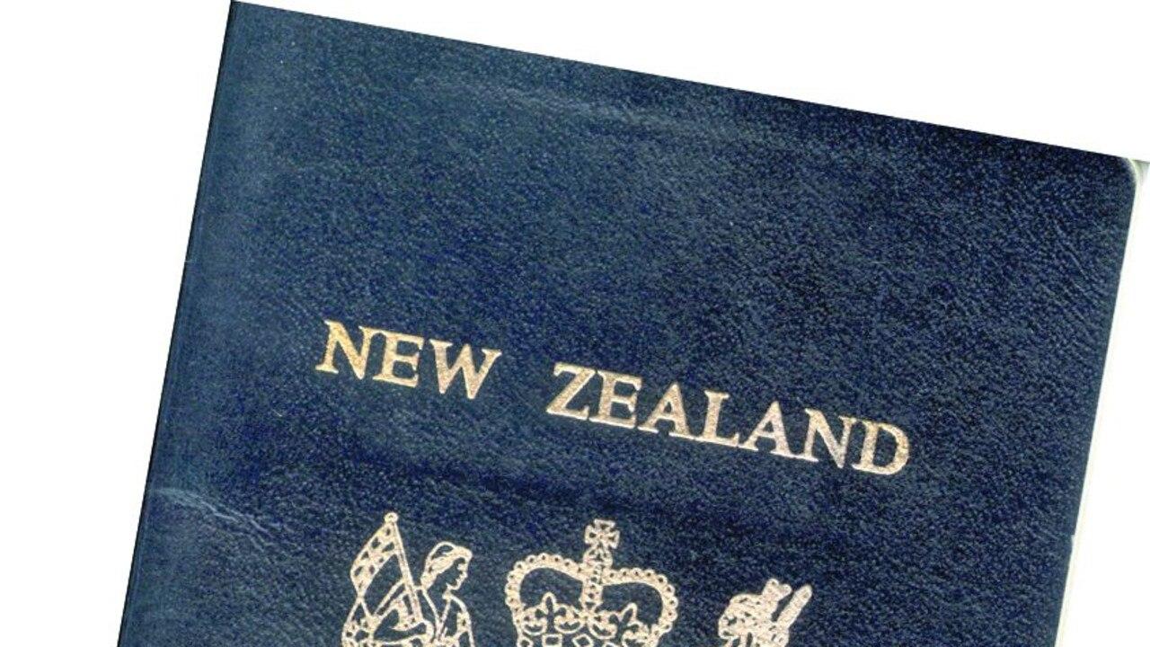 A New Zealand passport.
