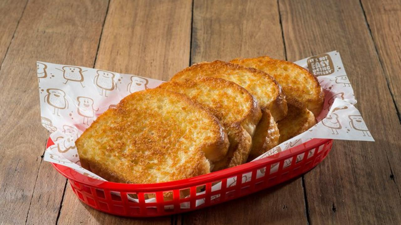 Sizzler is arguably most famous for its cheese toast.
