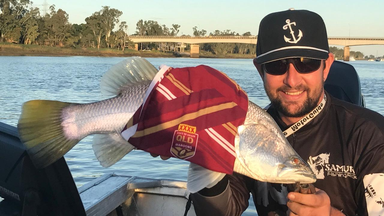 An old but a goody in light of Kevie Walters moving to the Broncos. Gavin Gaw with a Queensland barra.