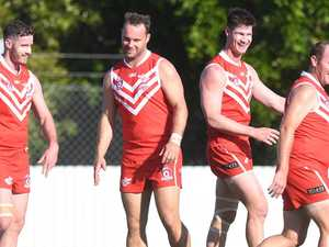 'Little bit surreal': Swans eyes on national record in final