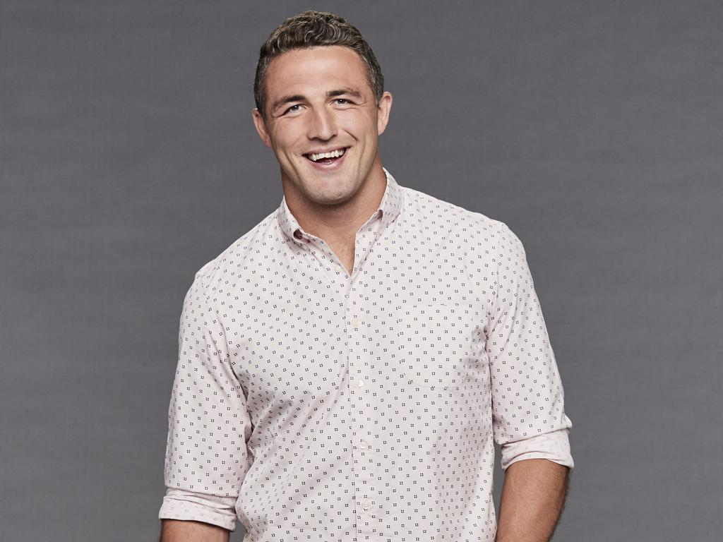 Sam Burgess and the woman exchanged text messages for several months.