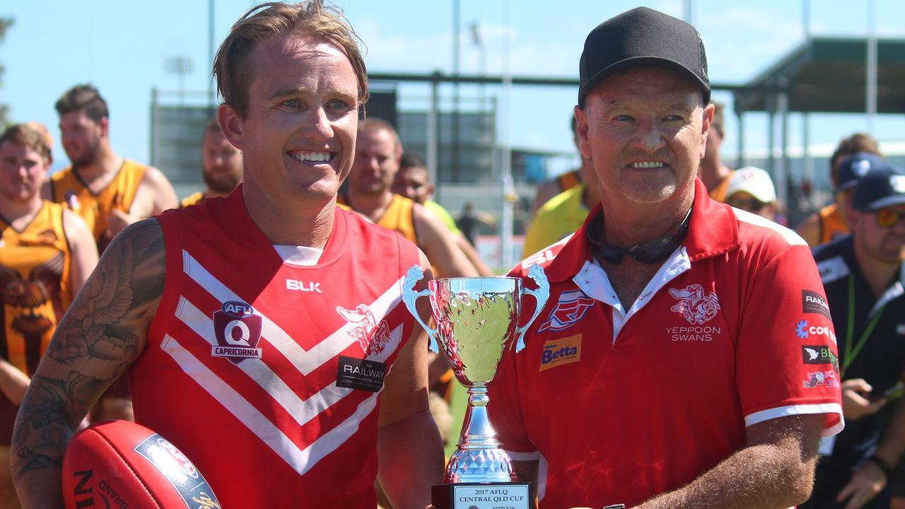 The dynamic Wallin duo - skipper Matt and coach Mark - will have hoping for more success in Saturday's grand final.