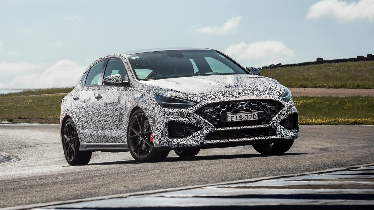 Hyundai has bumped up the i30N's power by 4kW and 39Nm.