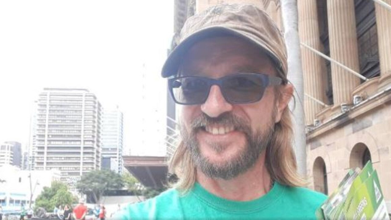 Legalise Cannabis Qld candidate for Whitsunday Paul Hilder.