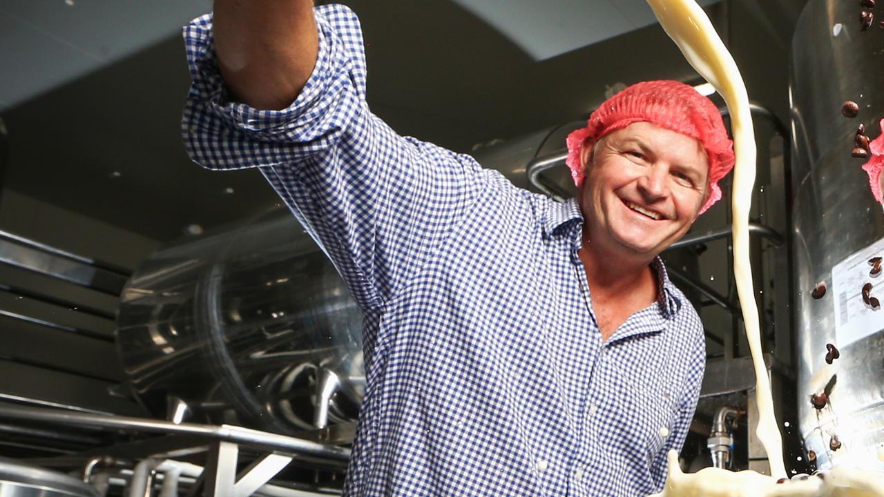 Barambah Organics co-founder Ian Campbell. Picture: Nigel Hallett