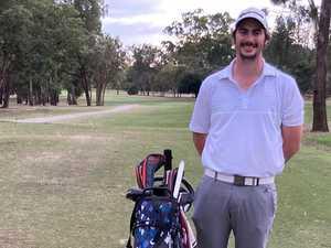Gun golfer has shot at rare double at Rocky Open