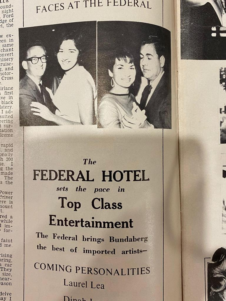 TOP CLASS: Socials from the Federal Hotel.