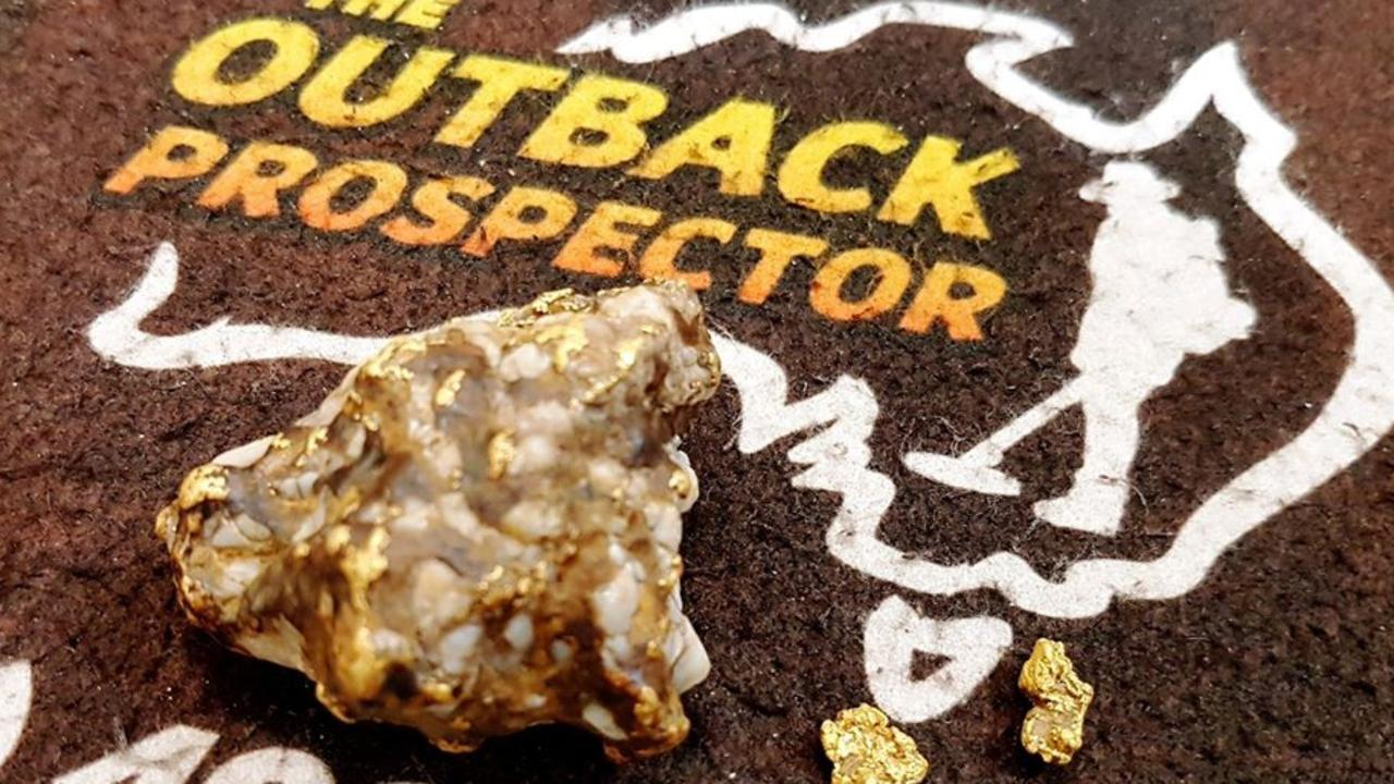 72 grams of pure gold found at Clermont in February. Picture: The Outback Prospector