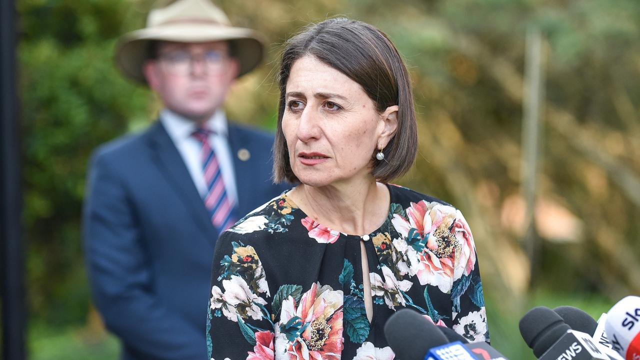 NSW Premier Gladys Berejiklian. Picture: NCA NewsWire/Flavio Brancaleone