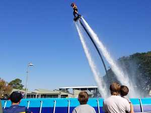 Showfest brings families out for stunt-filled entertainment