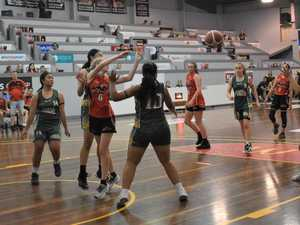 IN PHOTOS: U14s Mackay Meteorettes v Ipswich Force
