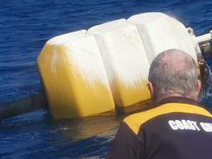 Unidentified yellow buoy spotted off Mooloolaba shore