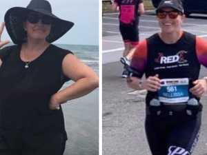 Mackay mum's incredible 30kg transformation