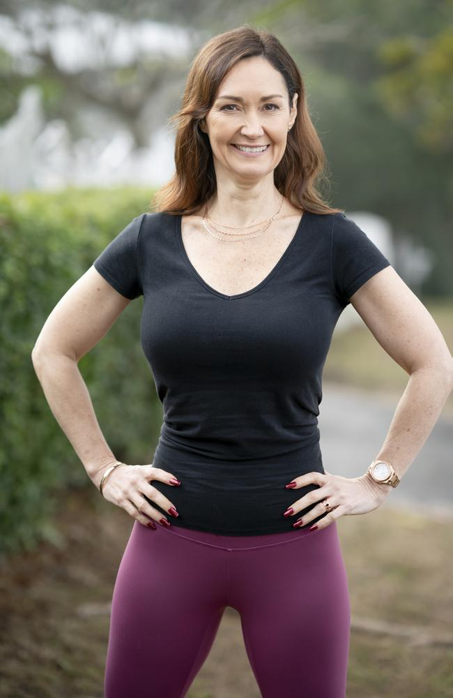 Zona Naude, 48, of Queensland, lost 20kg in nine months. Picture: Supplied