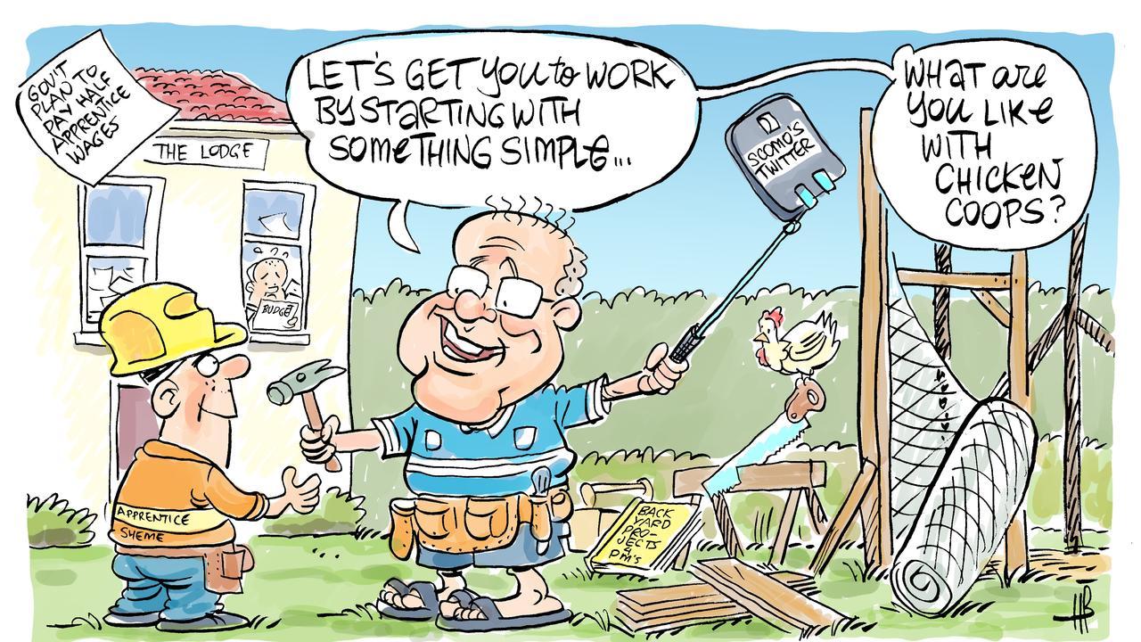 Harry's view on apprentice scheme.