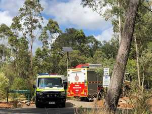 Hiker in hospital after large scale mountain rescue