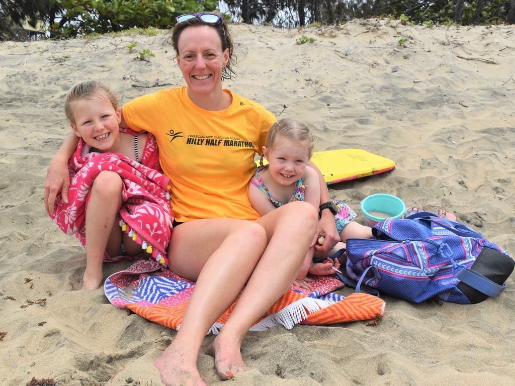Sarah Shuttlewood with daughters Amelia, 9, and Georgina, 4.