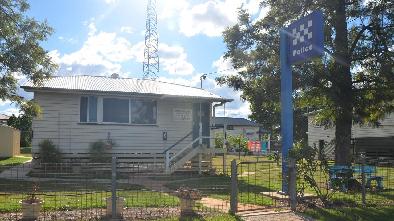 The Clermont Police Station. Picture: Emma Boughen