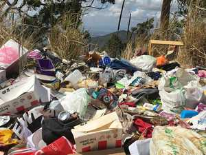 GRUBS BEWARE: Illegally dumped rubbish contained vital clues