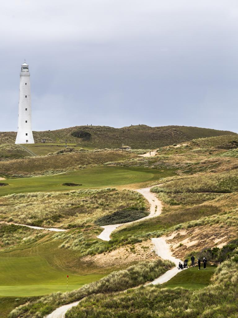 Cape Wickham Golf Course on King Island. Picture: Tourism Tasmania/Andrew Wilson