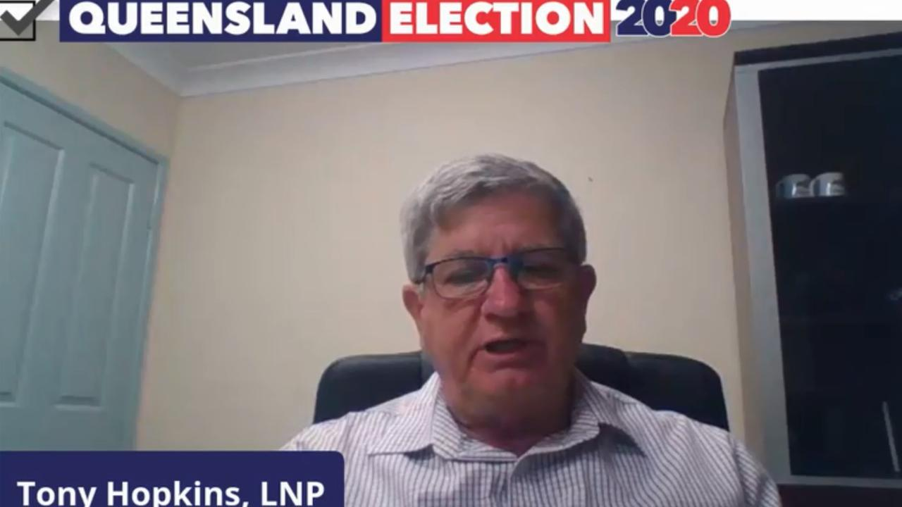 LNP's candidate for Rockhampton Tony Hopkins.