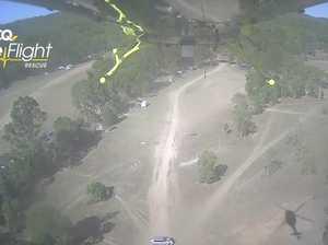 Bundaberg LifeFlight chopper called to motorbike crash