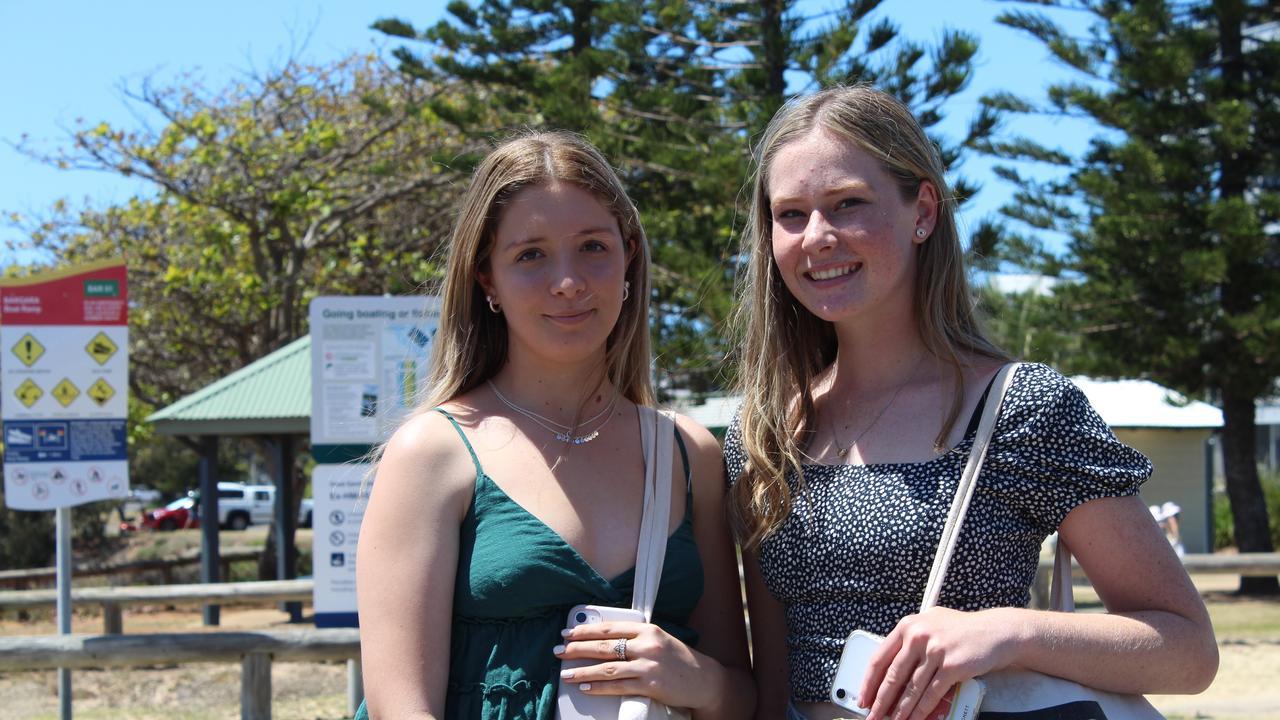 Bella Walters and Hayley Bignell. Photo: Geordi Offord