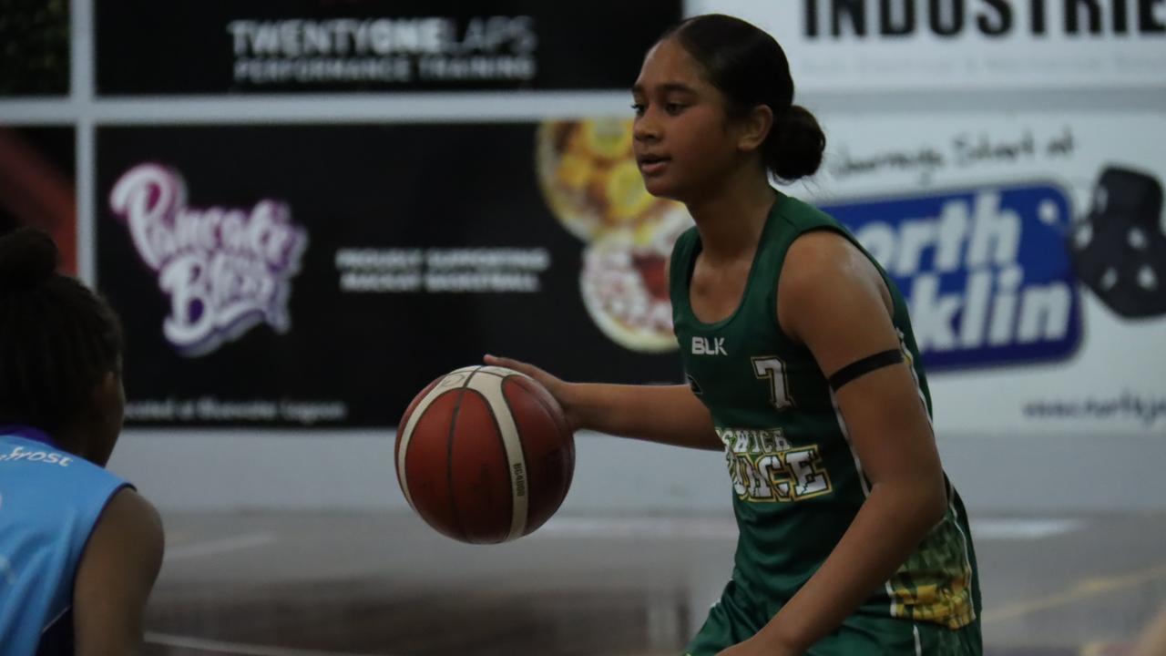 Ipswich guard Prasayus Notoa. Picture: Basketball QLD