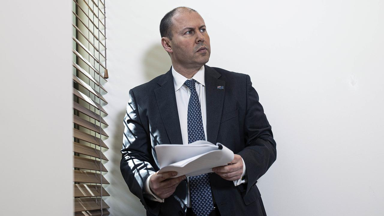 Treasurer Josh Frydenberg is preparing to hand down the most important Budget in Australian history. Picture: NCA NewsWire / Gary Ramage