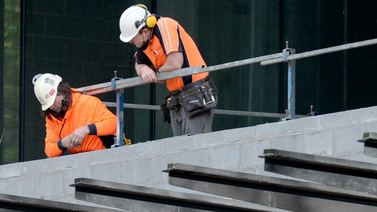 HomeBuilder and other big government spending projects means about 114,000 Queensland tradies will be needed.