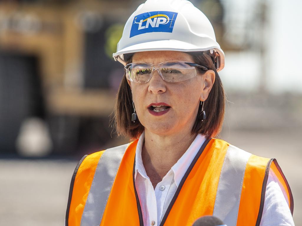 LNP leader Deb Frecklington. Photo: David Martinelli