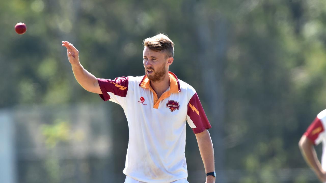 Tewantin-Noosa bowler Scott Aufderheide. Picture: Warren Lynam
