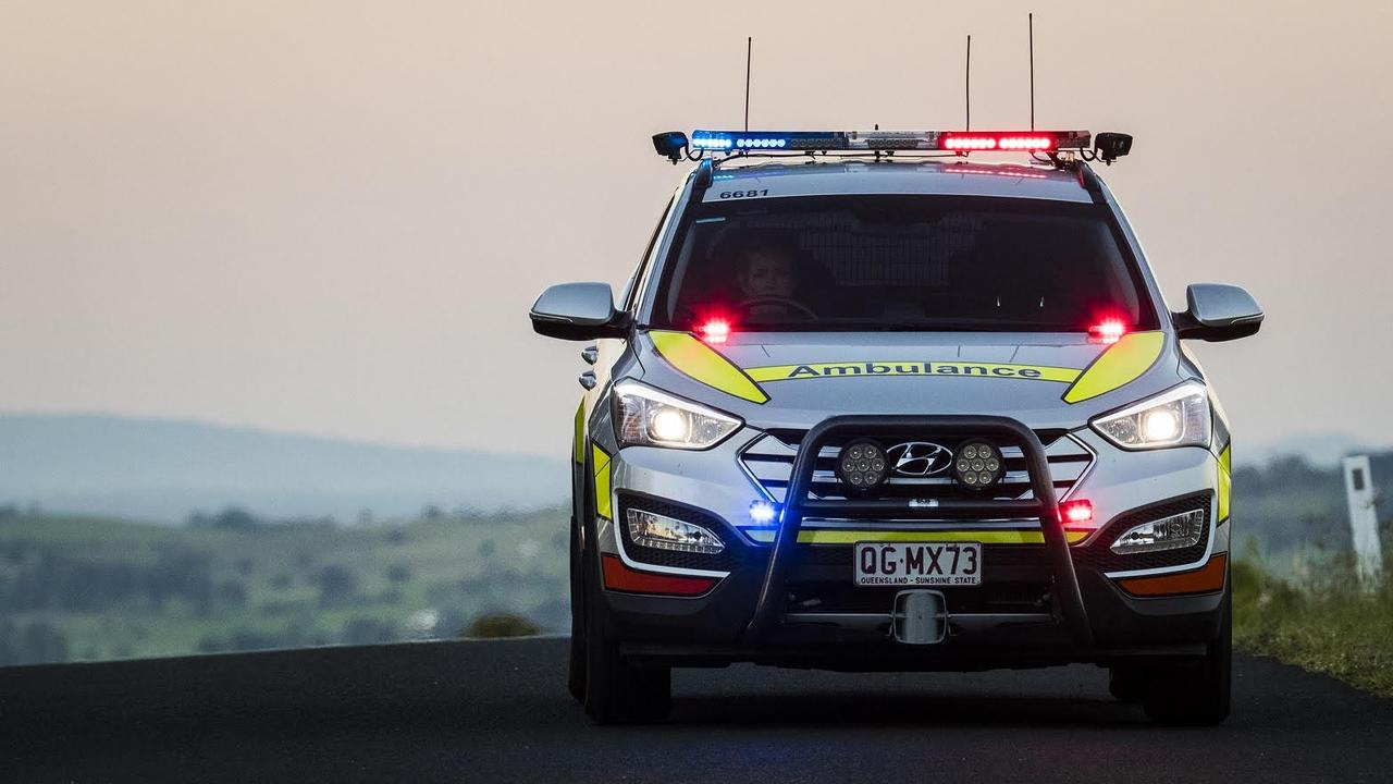 A girl in her late teens and a man in his 20s were involved in a single vehicle rollover on Marian Hampden Rd at 4.45am.