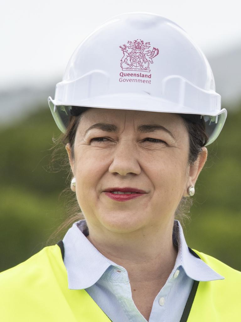 Premier Annastacia Palaszczuk in Cairns. Picture: Brian Cassey