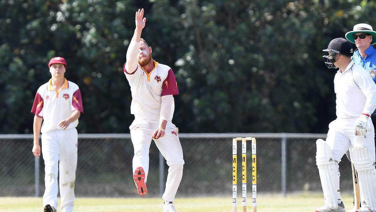 Tewantin-Noosa bowler Tom Freshwater. Picture: Patrick Woods / Sunshine Coast Daily.