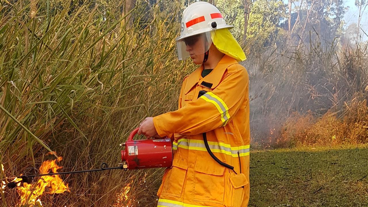 RFS volunteer Flynn Bushell