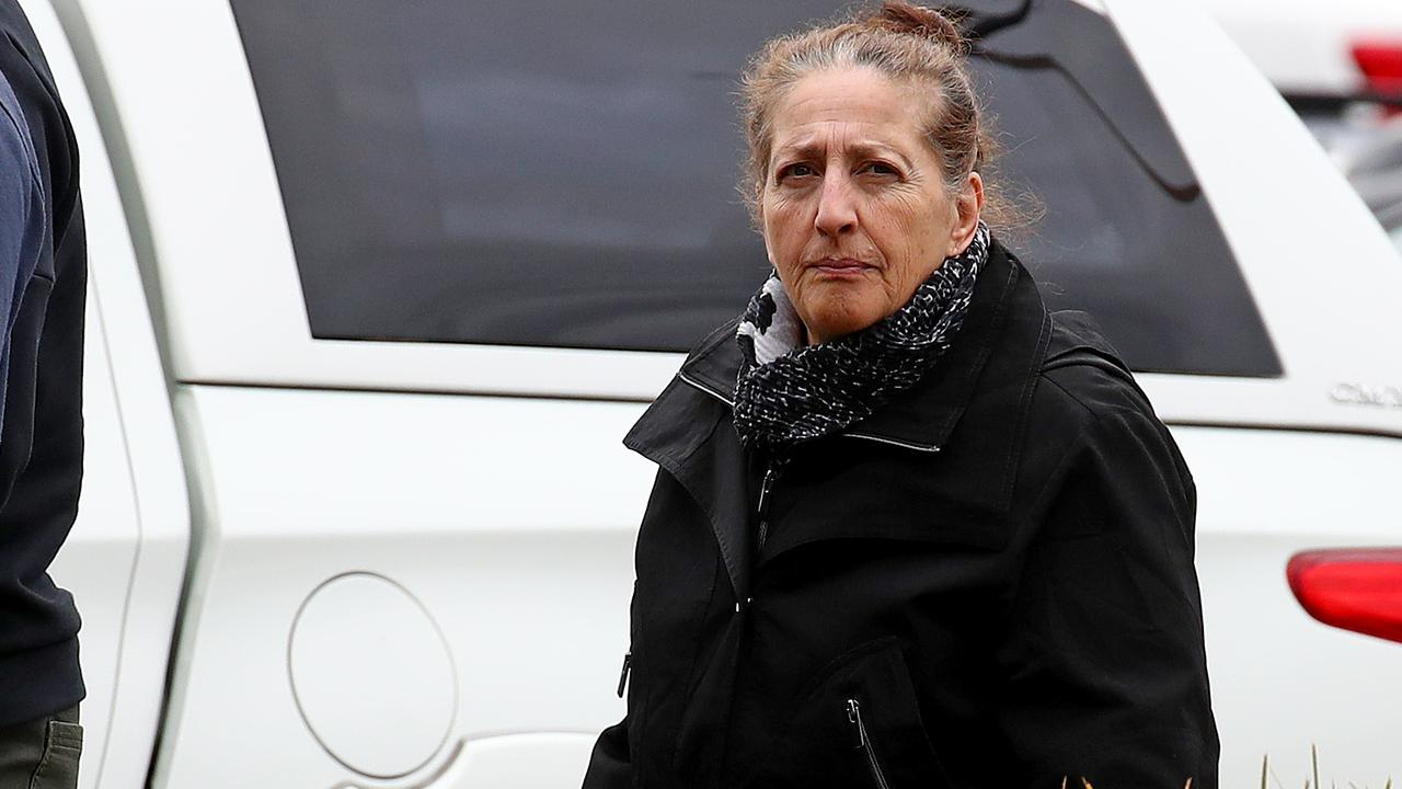 Rebecca Assie who has been dubbed 'Australia's greediest granny' appears at Penrith Local Court. Picture: Toby Zerna
