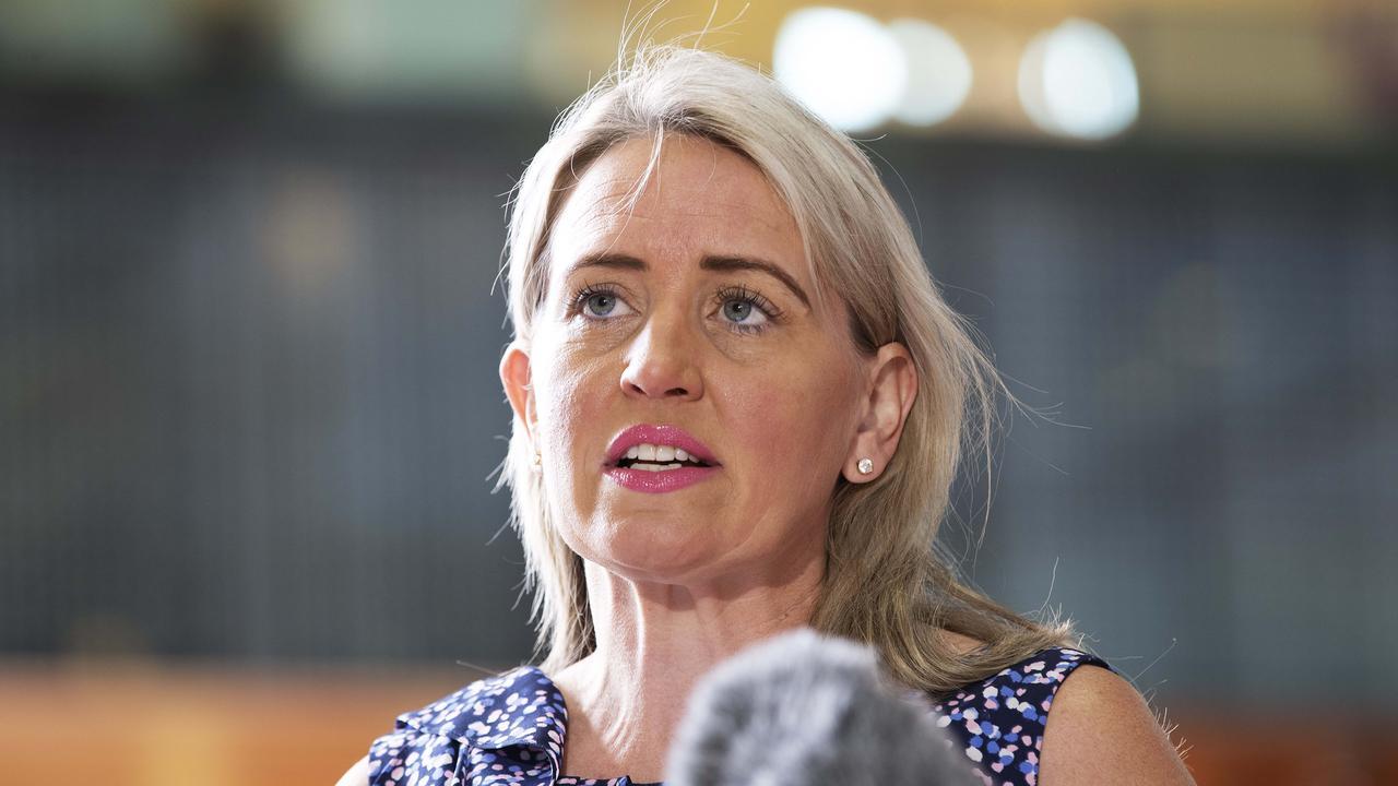 Tourism Minister Kate Jones. Picture: News Corp/Attila Csaszar