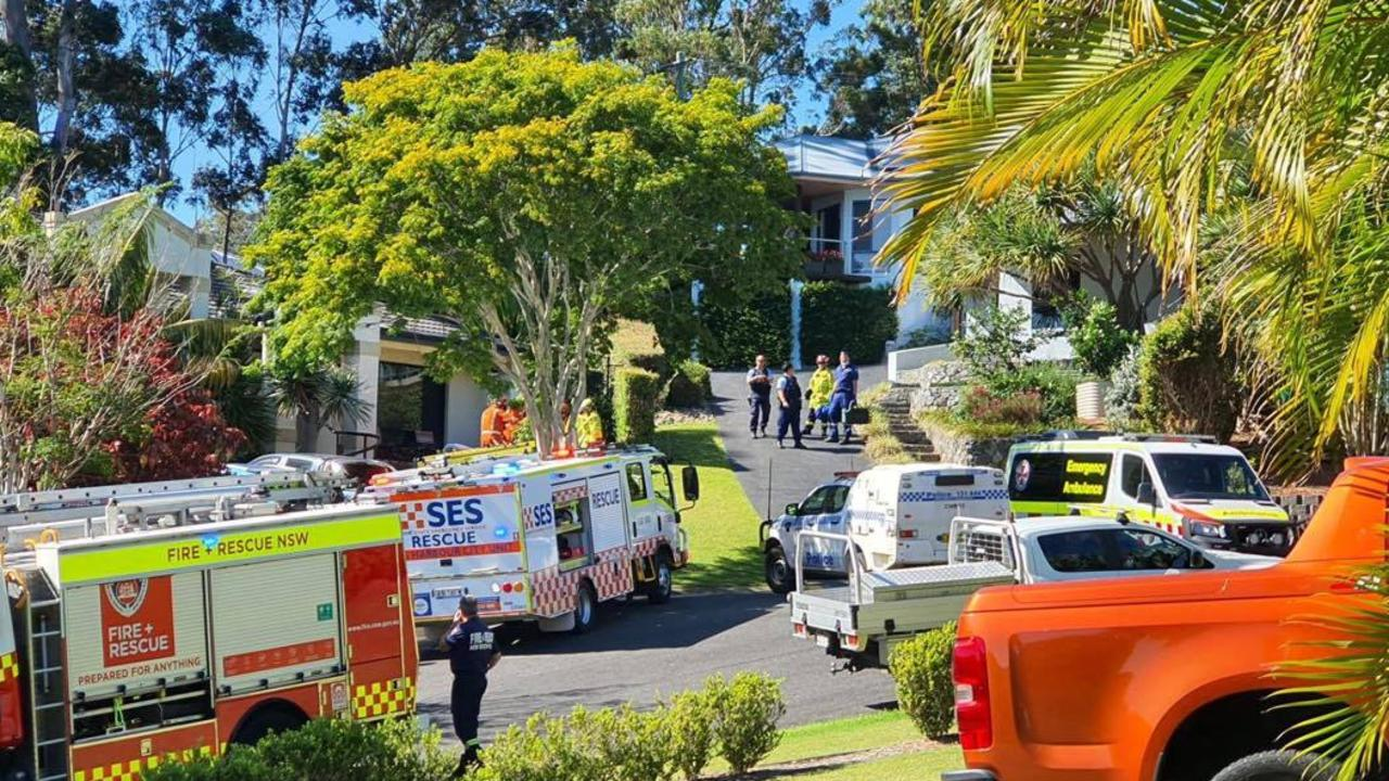 A man has been taken to hospital after falling into an empty swimming pool. Photo by Frank Redward