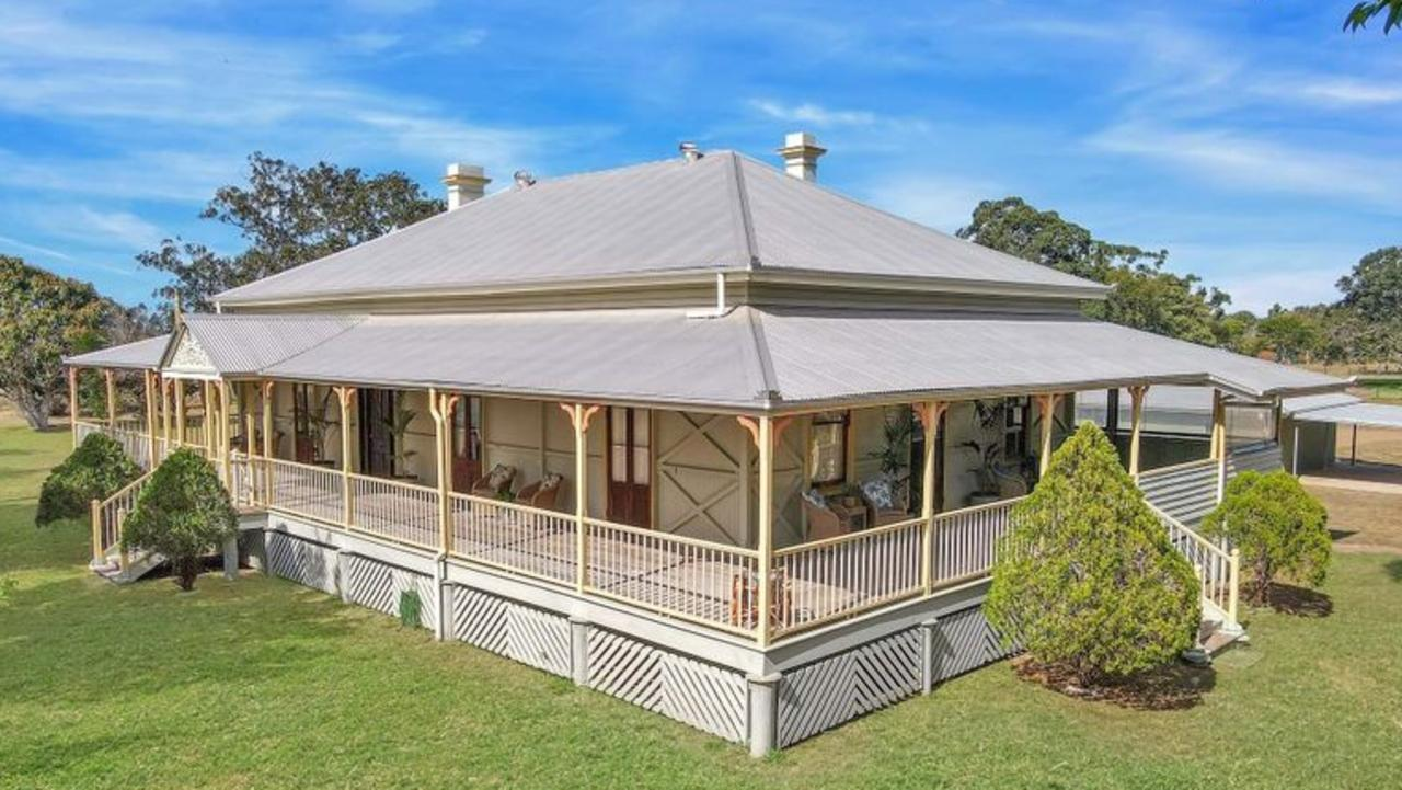 HOME SWEET HOME: One of the region's oldest buildings Tantitha Homestead is currently listed on the market.