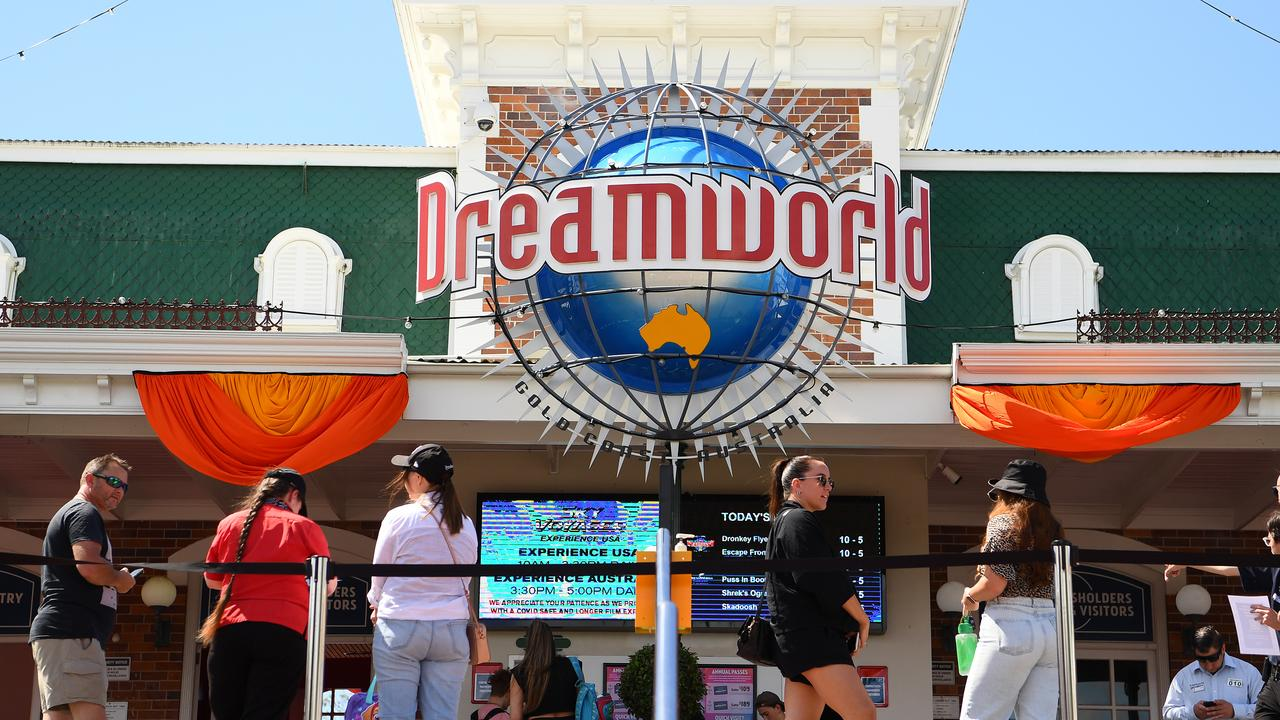 Dreamworld has had one of its best September school holiday periods in years. Photo Quinn Rooney/Getty Images
