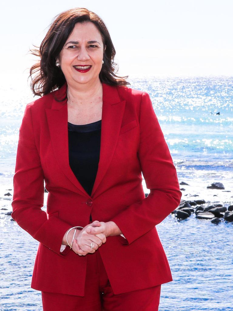 Premier Annastacia Palaszczuk. Picture: Nigel Hallett